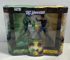 GREEN LANTERN VS SINESTRO FIGURES DC UNIVERSE TOYS R US MATTEL SEALED 2011
