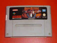 Brawl Brothers SNES - PAL Version - Super Nintendo Sammlungsauflösung