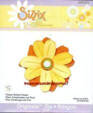 Sizzix Originals BUILD A FLOWER New 655974 SUPER CUTE
