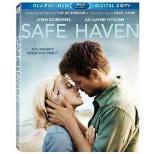 SAFE HAVEN New Sealed Blu-ray + DVD Josh Duhamel Julianne Hough Nicholas Sparks