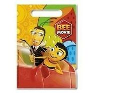 2 Packs The Bee Movie Birthday Party Treat Sacks Goody Loot Favor Bags 16 Count
