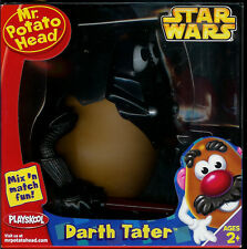 "HASBRO PLAYSKOOL STAR WARS ""DARTH TATER"" MR. POTATO HEAD FIGURE MIX 'N MATCH"