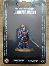 Lieutenant Amulius - Space Marines - Warhammer 40.000 - Games Workshop - NEW NEU