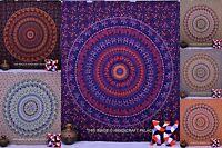 Indian Mandalas Tapestry Hippie Wall Hanging Mandala Bedspread Beach Throw Decor