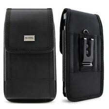 addc9c1a1f3c Cell Phone Pouch with Belt Loop and Metal Clip Holster (3 Sizes) - Evocel