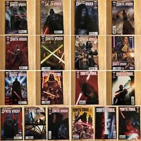 Star Wars Darth Vader & Darth Maul Comic Lot (Marvel) 18 Issues Total