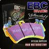 EBC YELLOWSTUFF REAR PADS DP4612R FOR PORSCHE 911 (993) 3.6 CARRERA 93-97