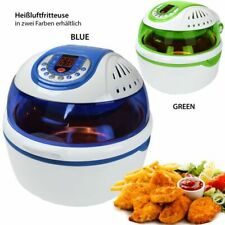 Turbo-Heißluftfritteuse Heißluftgarer Airfryer Küchenmaschine mit LED-Display