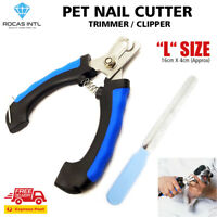 Pet Grooming Dog Cat Nail Clippers Heavy-Duty Cutter Trimmer Scissors Toe Claw