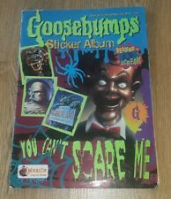 Goosebumps Sticker Album Merlin Used