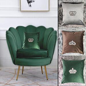 Luxury Soft Velvet Cushion Covers Handmade Pillow Case for Home Bed Sofa