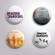 4 IMAGINE DRAGONS - Pinbacks Badge Button Pin 25mm 1''