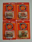 Official NASCAR - McDonald's RACING TEAM Set of FOUR Vintage 1990's diecast Cars