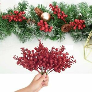 For Tree Wreath Artificial Berry Xmas Decor Party Supplies Christmas Decoration