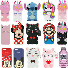 3D Cartoon Case For iPod Touch 6 7 iPhone 5S 6 7 8 Plus XR XS Max 11 Pro Max 11