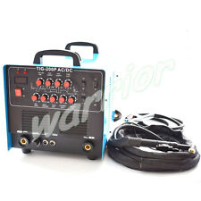 1 Phase 220V TIG 200P AC/DC TIG Pulse Welder Aluminium Welding Machine Inverter