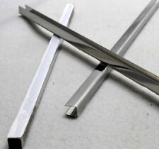Edelstahl U-Profil, Fliesen-Abschlusskante, Blende,A 10mm/B 10mm/C 10mm, L 300mm