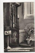 Ranworth Church Lady Chapel & Screen RP Postcard 812a