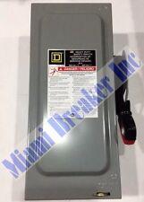 HU361 Square D Safety Switch 30 Amp 600V (New No Box)