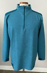 Under Armour Golf Cold Gear Loose sz XL Mens 1/4 Zip Pullover Shirt