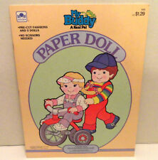 VINTAGE GOLDEN 1986 MY BUDDY THE REAL PAL PAPER DOLLS