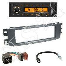 Continental TR7412UB-OR Radio + Smart ForTwo (W454) 04-06 Blende + ISO Adapter
