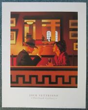 Jack Vettriano, Man in the Mirror - Quality Art Print 40x50 cm - FREEPOST