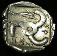 Dynasts of Lykia, Mithrapata AR Diobol. Circa 390-370 BC.