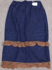 LEW MAGRAM COLLECTION JEANS WOMEN JEAN Skirt -Size16- W34-35 X L37. TAG NO. C109