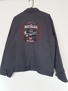 Vintage Red Kap Kustom Shack 'Nostalgia' Hot Rods Jacket