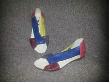 FLY LONDON-FAYA-Multicolored Soft Leather-Gorgeous! Size 7M-New