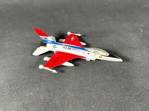 Collectors Die-Cast Airplane USAF Thunderbird type jet