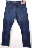 LEVI'S STRAUSS & CO Men 504 Slim Straight Stretch Jeans Size W38 L34 BBZ453