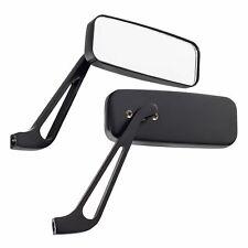 Pitking Black Pair Billet Aluminium Universal Kit Car/Caterham Wing/Side Mirrors