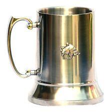 Bull Buffalo Beast 1 Pint Tankard Stainless Steel Tankard Beer MUG JUG