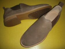 Clarks Edenvale Page Leather Slip-On Shoe Booties Women's 7.5 M Brown ~