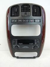 Chrysler Grand Voyager Unidad De Panel guarnecido centro frontal con Control Calentador A/C