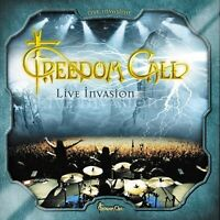 "FREEDOM CALL ""LIVE INVASION"" 2 CD NEW+"