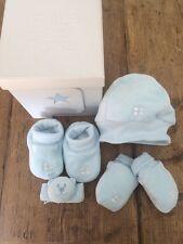 NEW GIFT BOX - Emile et Rose - Baby Boy 4 Piece Blue Set - Newborn - Baby Shower