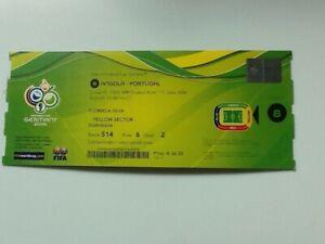 Ticket WM WC Deutschland 2006 Match 8 Angola - Portugal Köln 11.6.2006