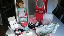 "New Listing American Girl Mary Ellen 18"" Doll, Clothing, and Accessories in original boxes"