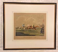 19th Century Horse Racing Lithograph Engraved by H Alken & T Sutherland