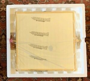 "NIB ASBURY Restoration Hardware 20""x 20"" Pivot Mirror POLISHED BRASS - 2 AVAIL"