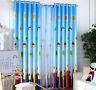 Rainbow Pencil Sunny Day Blockout Luxury Kids Curtains Sheer Drape Children Room