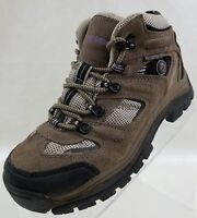 Nevados Ankle Boots Klondike Waterproof Hiking Womens Taupe Lace Up Shoes Sz 6.5