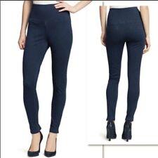 Lysse Womens High Rise Skinny Denim Leggings Size Extra Small Blue