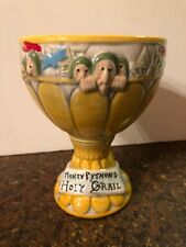 Awesome! Monty Python Holy Grail Goblet Chalice Ceramic Cup Beer Mug