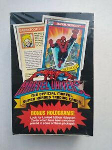 1990 Marvel Universe Series 1 Box. Free Shipping. Sealed Box🔥💎📈