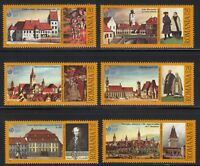 Romania 2007 MNH Mi 6206-6211 Sc 4961-4966 Sibiu, 2007 European Cultural Capital
