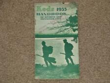 Keds 1935 Handbook of Sports & Outdoor Life, Fogarty`s Shoe Store, Newburgh, Ny